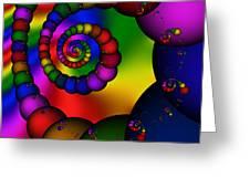 Abstract 521 Greeting Card