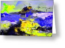 Abstract 55442233 Greeting Card