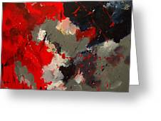 Abstract 55901103 Greeting Card