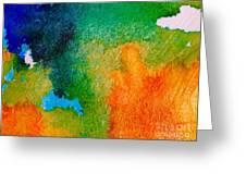 Abstract 6 Greeting Card