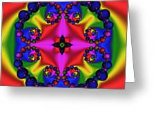 Abstract 600 Greeting Card