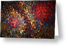 Abstract 60816 Greeting Card