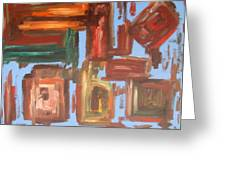 Abstract 611 Greeting Card