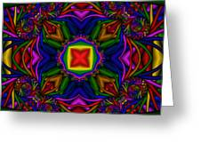 Abstract 611 Greeting Card