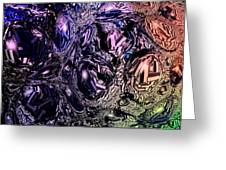 Abstract 63016.13 Greeting Card