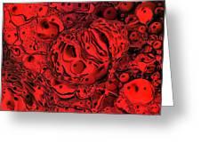 Abstract 63016.2 Greeting Card