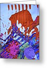 Abstract 6497 Greeting Card