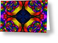 Abstract 650 Greeting Card