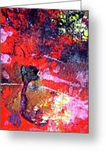Abstract 6539 Greeting Card