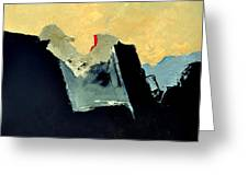 Abstract 660110 Greeting Card