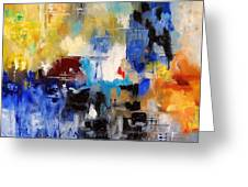 Abstract 69070 Greeting Card