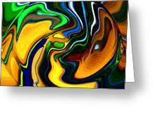 Abstract 7-10-09 Greeting Card