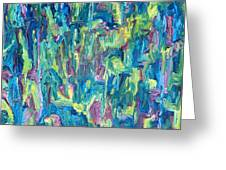 Abstract 700 Greeting Card