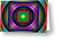 Abstract 705 Greeting Card