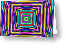 Abstract 727 Greeting Card