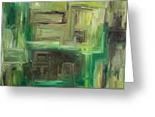 Abstract 742 Greeting Card