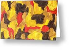 Abstract 746 Greeting Card