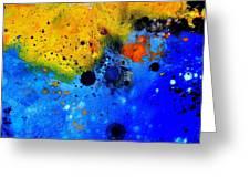 Abstract 767b Greeting Card