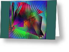 Abstract 7690 Greeting Card