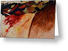 Abstract 7861 Greeting Card