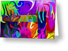 Abstract 7d Greeting Card