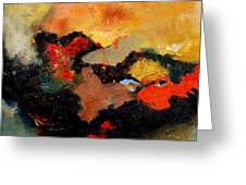 Abstract 8080 Greeting Card