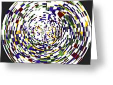 Abstract 813 Greeting Card