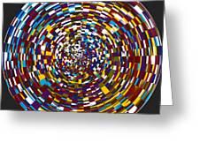 Abstract 814 Greeting Card