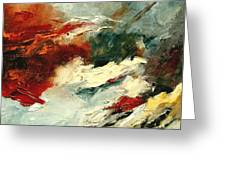 Abstract 9 Greeting Card