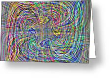 Abstract 9 Greeting Card
