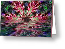 Abstract 93016.1 Greeting Card