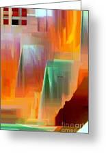 Abstract 9364 Greeting Card