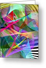 Abstract 9488 Greeting Card