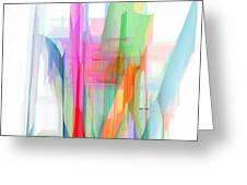 Abstract 9501-001 Greeting Card