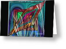 Abstract 9554 Greeting Card