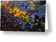 Abstract 972 Greeting Card