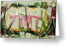 Abstract Art Fifty-six Greeting Card