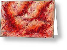 Abstract Art Nineteen Greeting Card