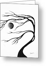 Abstract Art Original Decorative Painting Moon Song By