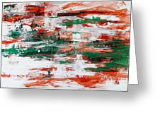 Abstract Art Project #24 Greeting Card