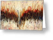 Abstract Art Twenty-one Greeting Card