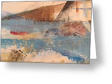 Abstract At Sea 2 Greeting Card