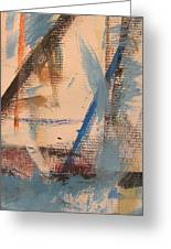 Abstract At Sea 3 Greeting Card