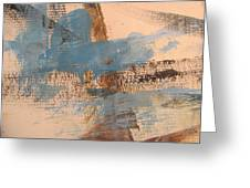 Abstract At Sea 4 Greeting Card