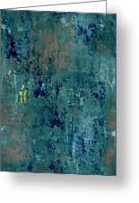 Abstract Back Cover Design  Greeting Card