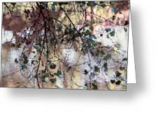 Abstract Birch Greeting Card