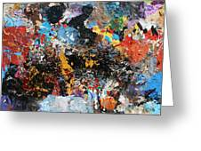 Abstract Blast Greeting Card