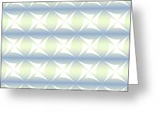 Abstract Blue And White Background Greeting Card