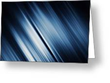Abstract Blurred Dark Blue  Background Greeting Card
