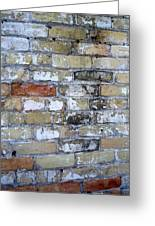 Abstract Brick 10 Greeting Card